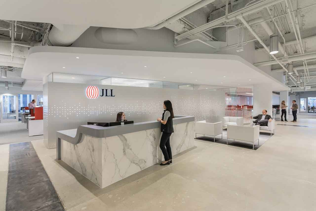 JLL Office Reception - San Francisco